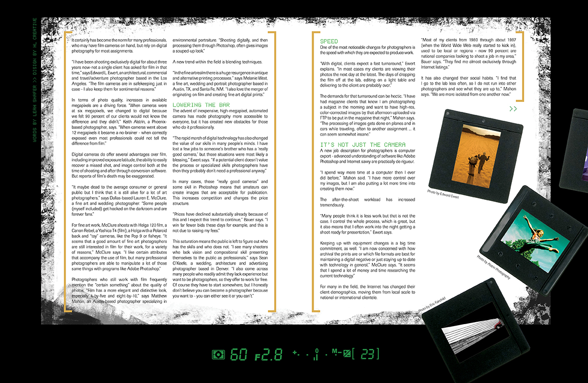 how to create magazine article in word